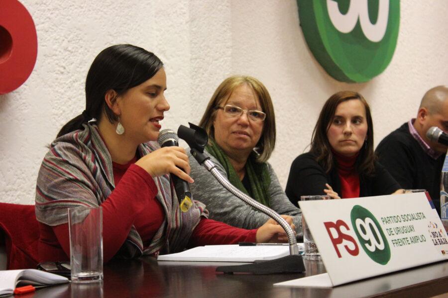 Veronika Mendoza Visitó Casa Del Pueblo