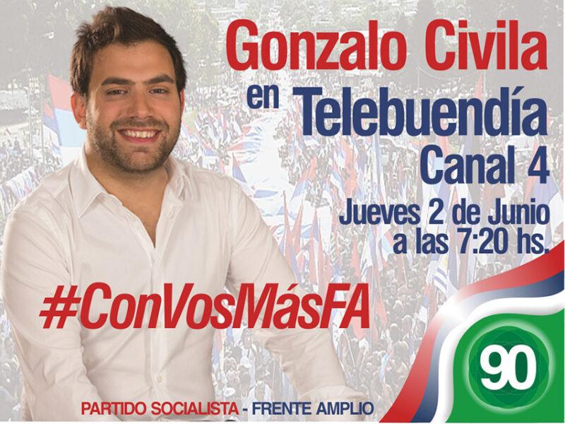 Gonzalo Civila En Telebuendía