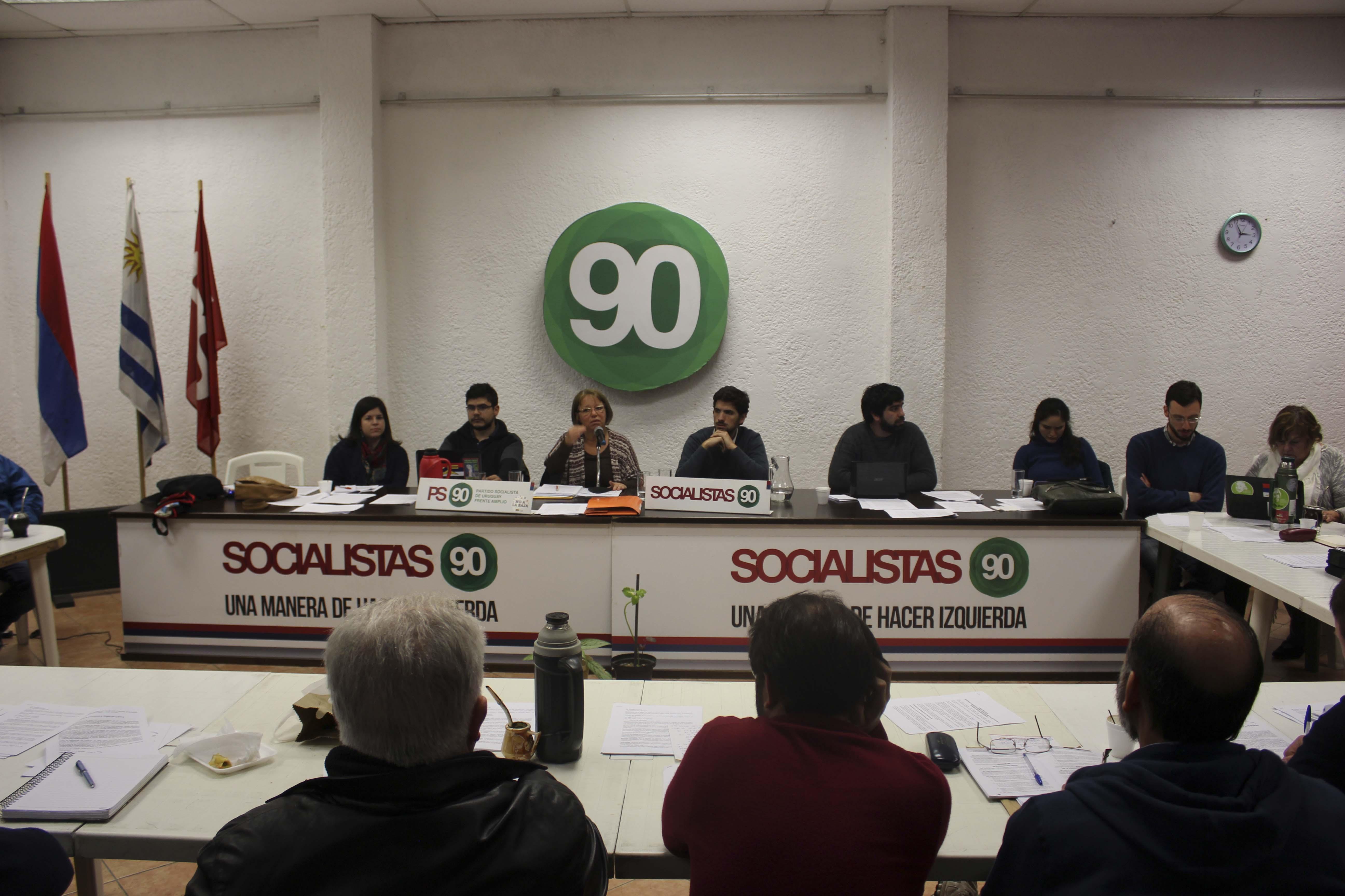 El Actual Comité Central Del Partido Socialista