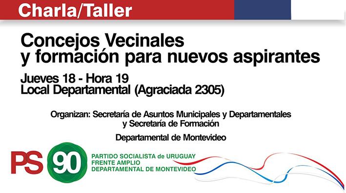 Concejos Vecinales, Y Formación Para Nuevos Aspirantes