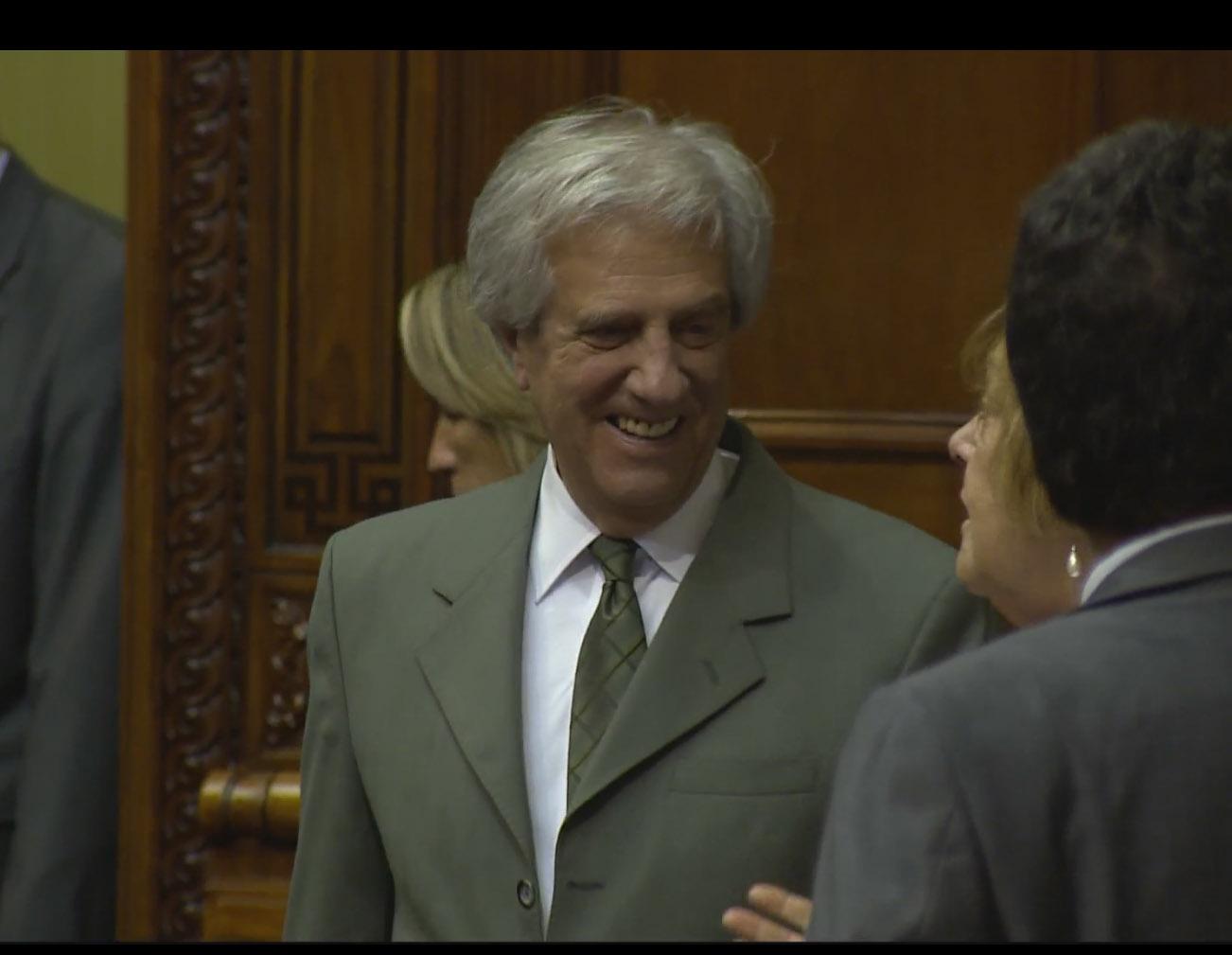 Presidente Vázquez Asistió Al Homenaje De La Asamblea General, Por El Centenario Del Nacimiento De Líber Seregni