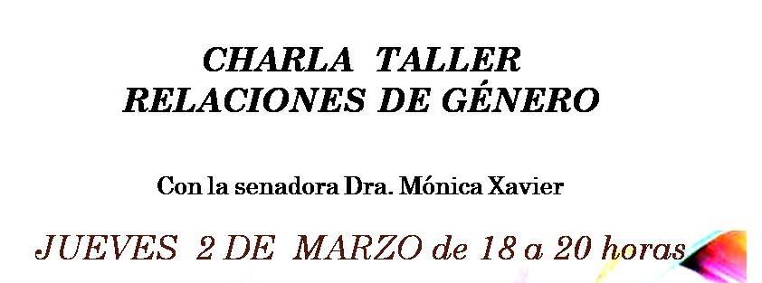 Charla Taller: Relaciones De Género – Salto