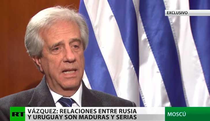 Tabaré Vázquez: «Uruguay Es Un País De Inmigrantes. Hay Que Tender Puentes Y No Muros»