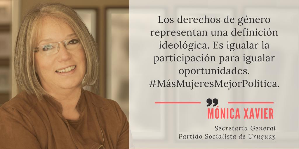 #MásMujeresMejorPolitica