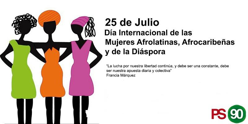 Día Internacional De La Mujer Afrolatinoamericana, Afrocaribeña Y De La Diáspora