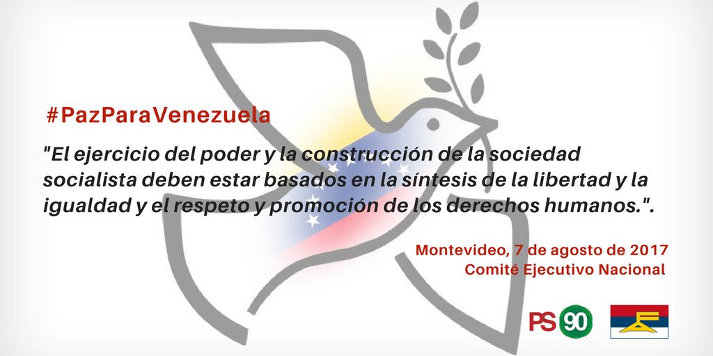 No Hay Socialismo Sin Democracia #DeclaraciónCENPS