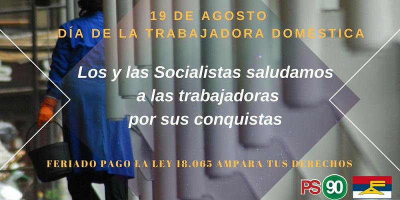 """19 De Agosto, """"Día De La Trabajadora Doméstica"""""""