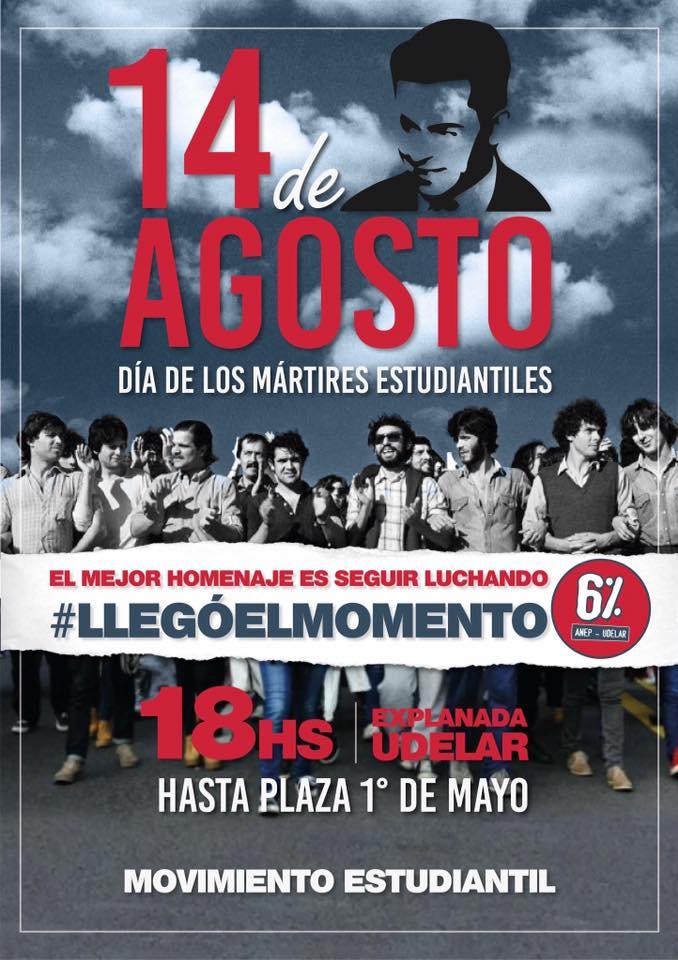 14 De Agosto, Día De Los Mártires Estudiantiles