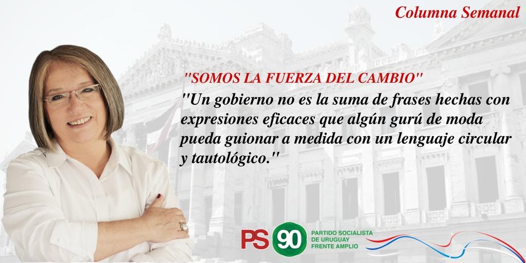 Somos La Fuerza Del Cambio. #EscribeMónica