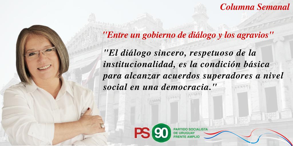 Entre Un Gobierno De Diálogo Y Los Agravios.
