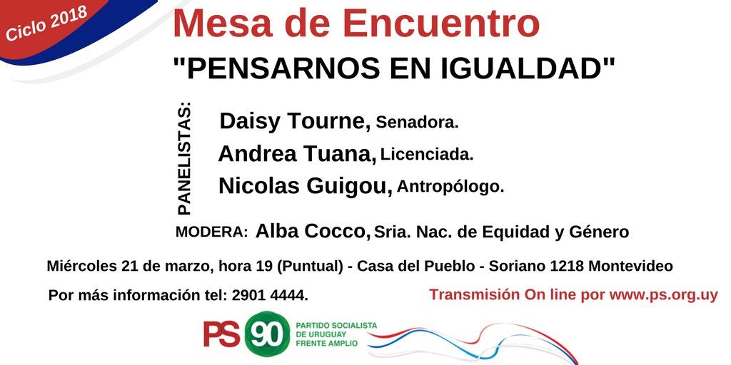 Mesa De Encuentro – Ciclo 2018