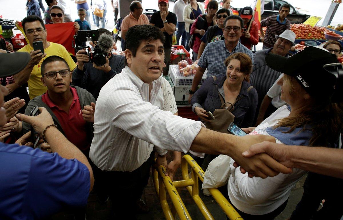 Carlos Alvarado Es El Presidente Electo En Costa Rica