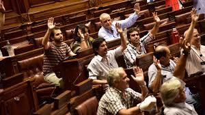 LA BANCADA DE DIPUTADOS SOCIALISTAS SOBRE LA ACTIVIDAD DESARROLLADA EN EL DÍA DE AYER EN EL EDIFICIO ANEXO DEL PALACIO LEGISLATIVO
