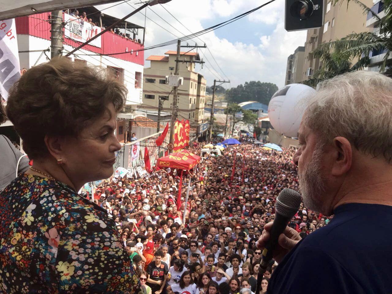 Lula, Amigo, Estamos Contigo.