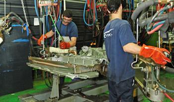 Producción Industrial Aumentó 12,3 %