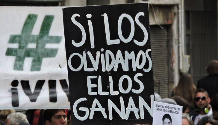 Se Conmemora El Día Del Detenido Desaparecido