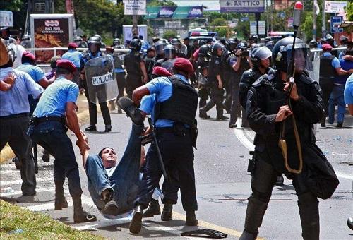 Demandamos El Cese Inmediato De Toda Forma De Represión Contra El Pueblo Nicaragüense